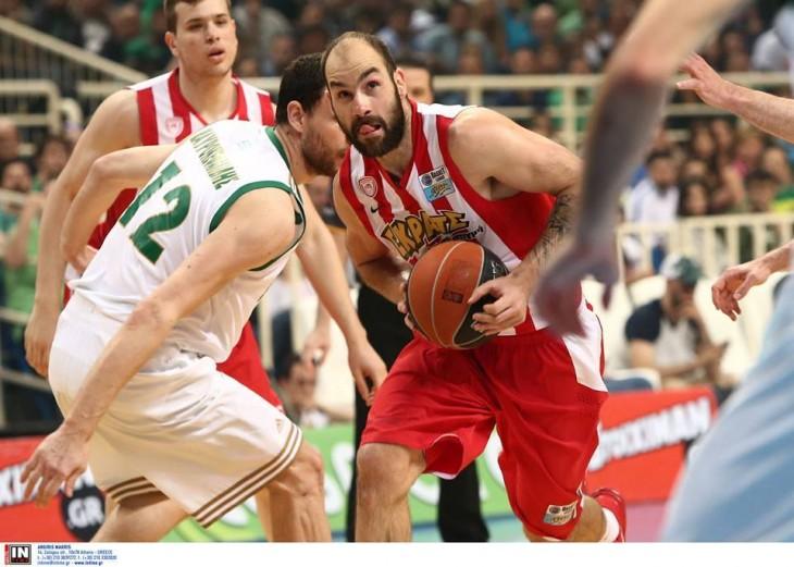 Παναθηναϊκός – Ολυμπιακός 69-76 πάει για πρωτάθλημα ο Θρύλος !!!