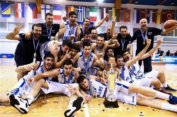 Οι «χρυσοί» Έφηβοι έστεψαν την Ελλάδα Πρωταθλήτρια Ευρώπης