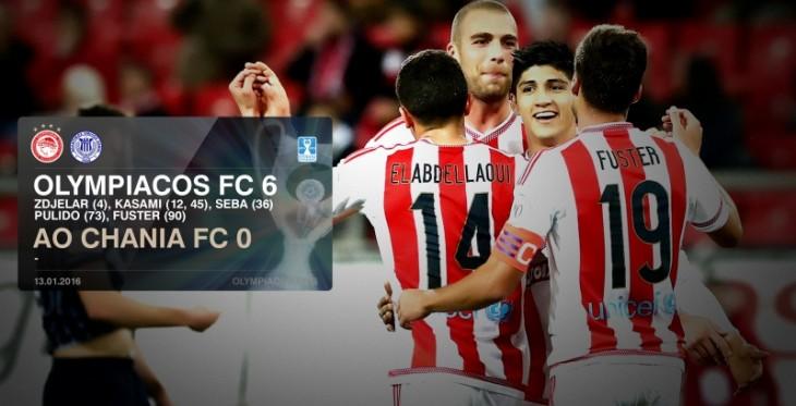 """Νίκη του Θρύλου 6-0 τα Χανιά  και πρόκριση  στους """"8"""" του κυπέλλου Ελλάδας"""