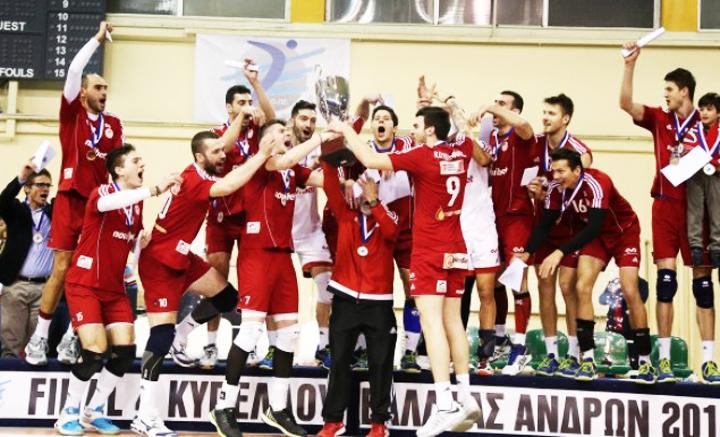 Κυπελλούχος Ελλάδας στο Βόλεϊ Ανδρών ο Θρύλος !!!