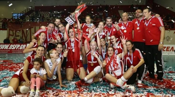4ο  συνεχόμενο Πρωτάθλημα Ελλάδας & νταμπλ για τα κορίτσια του Βόλεϊ !!!