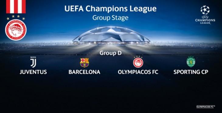Κλήρωση Uefa Champions League