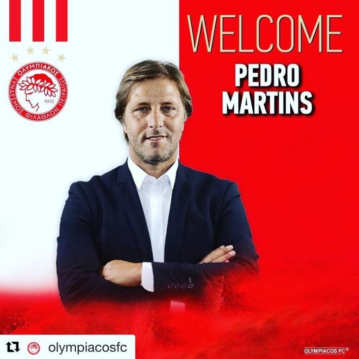 Νέος προπονητής του Θρύλου ο Pedro Martins