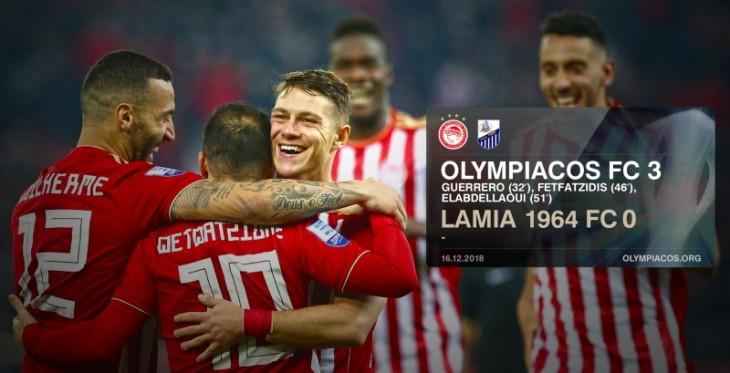 Άνετη νίκη του Θρύλου με 3-0 τη Λαμία