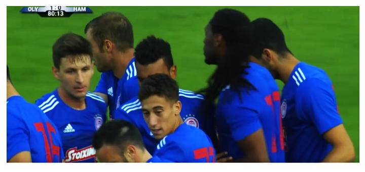 Ολυμπιακός – Αμβούργο 1-1