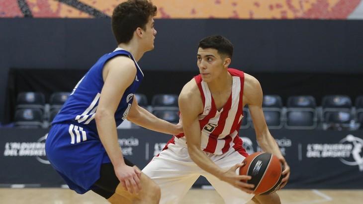 Adidas Next Generation Tournament: Ολυμπιακός – Τσιμπόνα 107-73