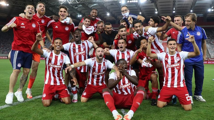 Ο Ολυμπιακός επιβλήθηκε του ΟΦΗ με 2-1 και κατέκτησε τον 45ο τίτλο της ιστορίας του