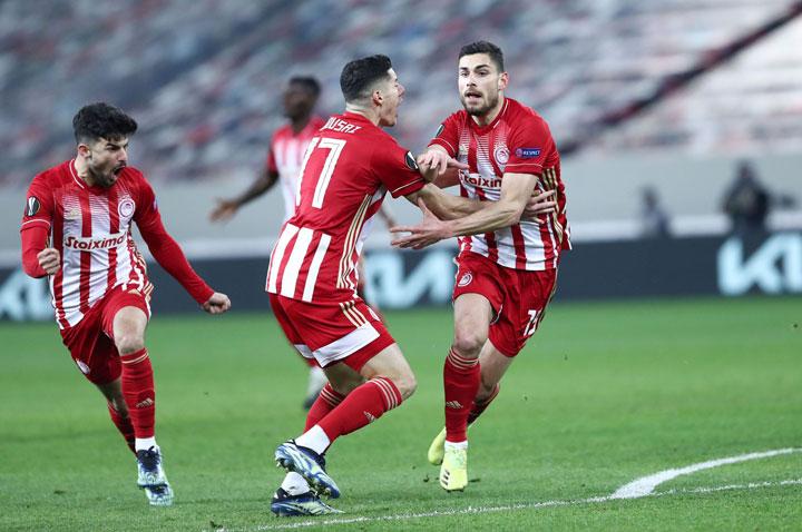 Καλπάζει ο Ευρωπαίος Ολυμπιακός κερδίζοντας 4-2 τους Ολλανδούς της PSV