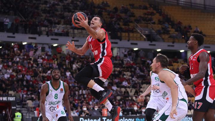 Ο Ολυμπιακός επιβλήθηκε στο ΣΕΦ της Ζαλγκίρις με 83-68